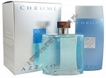 Azzaro Chrome woda toaletowa 100 ml spray + żel pod prysznic 200ml