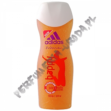 Adidas Happy żel pod prysznic 250 ml