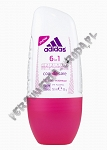Adidas 6w1 women dezodorant roll-on 50 ml