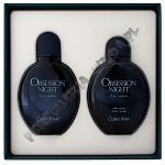 Calvin Klein Obsession Night men woda toaletowa 125 ml spray + woda po goleniu 125 ml