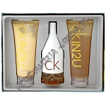 Calvin Klein Ck In2U women woda toaletowa 150 ml spray + balsam 200 ml + żel pod prysznic 200 ml