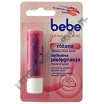 BeBe Young Care pomadka różana 4,9 g