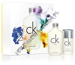 Calvin Klein CK One woda toaletowa 100 ml spray + sztyft 75g